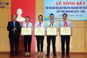 Thầy giáo Đô Lương đạt 'quán quân' Hội thi tổng phụ trách đội giỏi tỉnh Nghệ An
