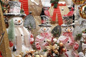 'Rục rịch' thị trường mùa Giáng sinh