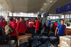 Tránh bão Kammuri, đoàn Thể thao Việt Nam thay đổi lịch trình bay