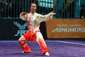 Chờ tuyển wushu giành huy chương vàng cho đoàn Việt Nam