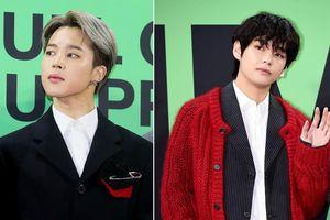 BTS 5 lần thay trang phục, diện đồ giá nghìn đô tại lễ trao giải