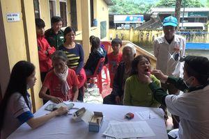 Quảng Trị: Khám và cấp thuốc miễn phí cho người dân khu vực biên giới
