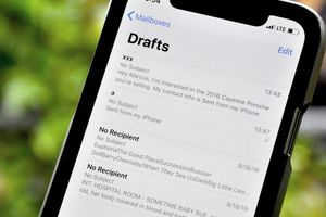 Cách mở nhanh thư nháp trên ứng dụng Mail của iPhone, iPad