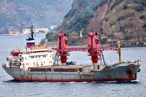 Thêm tàu vận tải Nga chở số lượng vũ khí lớn 'bất thường' tới Syria