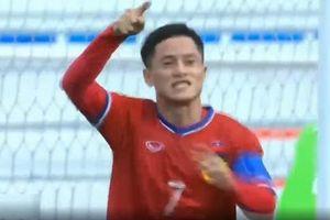 Messi Lào tỏa sáng giúp đội nhà thắng áp đảo U22 Brunei
