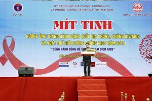 Phó Thủ tướng Vũ Đức Đam: 'HIV/AIDS sẵn sàng quay trở lại nếu chúng ta lơ là'