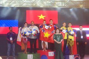 Khiêu vũ thể thao Đồng Nai giành 2 HCV, 4 HCB ở SEA Games 30