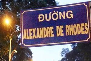 Xung quanh việc đặt tên đường 2 giáo sĩ có công với chữ quốc ngữ