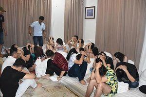 Dân chơi từ Đồng Nai xuống Vũng Tàu thuê biệt thự mở tiệc ma túy tập thể