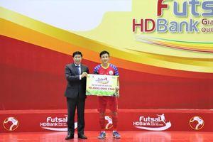 Sanvinest Sanatech Khánh Hòa vô địch giải futsal HDBank