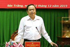 Ban chỉ đạo PCTN Trung ương làm việc với Sóc Trăng