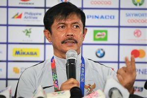 HLV Indra Sjafri nói về trận thua ngược U22 Việt Nam