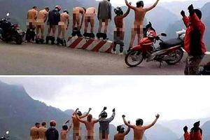 Xuất hiện nhóm người đàn ông khỏa thân được cho là tại Hà Giang