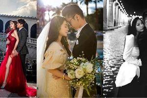 3 cô dâu rich kid lên xe hoa dịp cuối năm khiến dân mạng 'đứng ngồi không yên'