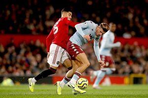M.U tiếp tục có trận hòa thất vọng trước Aston Villa