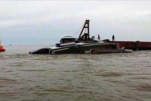 Hải Phòng xác định danh tính 2 nạn nhân vụ chìm tàu chở gạch trên sông Văn Úc