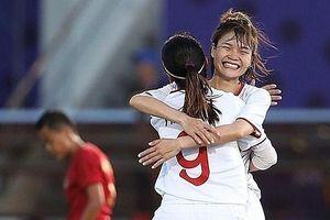 Tuyển bóng đá nữ Việt Nam gặp chủ nhà ở bán kết SEA Games 30