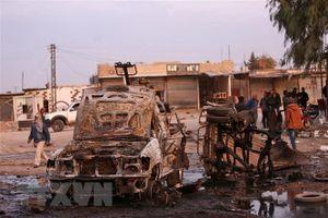 Syria: Không kích vào chợ, ít nhất 10 dân thường thiệt mạng