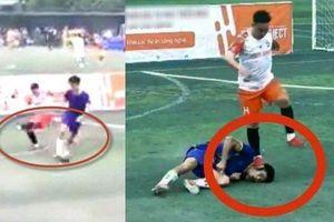 Kỷ luật và tiết lộ bất ngờ về cầu thủ dẫm lên mặt đối thủ ở Thái Nguyên