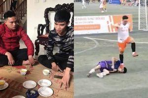 Cầu thủ dẫm lên mặt đối thủ trong trận bóng khiến nạn nhân lên cơn co giật gây phẫn nộ: 'Hành vi của em quá sai, mong anh và gia đình bớt giận'