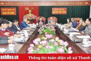 Quán triệt, triển khai thực hiện Quy định số 205-QĐ/TW của Bộ Chính trị