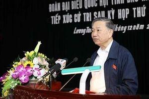 Bộ trưởng Tô Lâm tiếp xúc cử tri huyện Lương Tài, Bắc Ninh