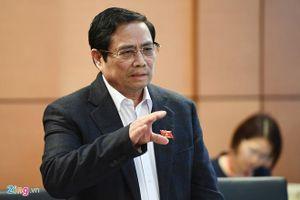Ông Phạm Minh Chính: Chạy chức, chạy quyền đang được từng bước đẩy lùi