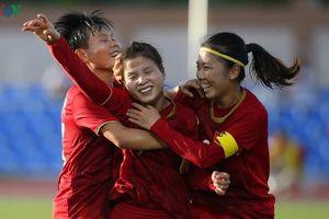 ĐT nữ Việt Nam gặp ĐT nữ Philippines ở bán kết SEA Games 30