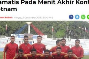 Báo Indonesia ngả mũ thán phục sức mạnh của U22 Việt Nam