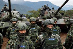 Đài Loan mời chuyên gia quân đội Mỹ cố vấn khả năng phòng vệ