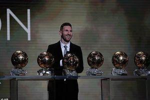 Messi nói gì sau khi giành quả bóng vàng thứ sáu?