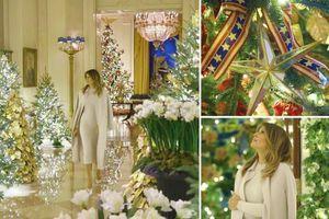 Vẻ đẹp lộng lẫy của Nhà Trắng chuẩn bị đón mừng Giáng sinh
