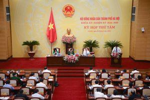 Khai mạc kỳ họp thứ 11 HĐND Hà Nội