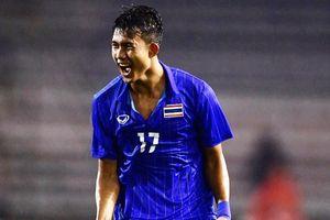 Tiền đạo 17 tuổi lập cú đúp, U22 Thái Lan chật vật đánh bại Lào