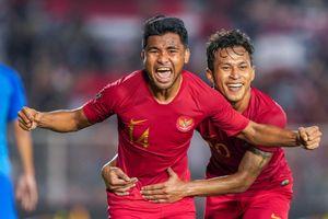 Đè bẹp Brunei 8-0, U22 Indonesia đẩy Thái Lan xuống thứ ba
