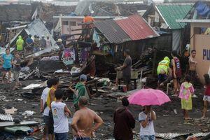 Bão Kammuri đổ bộ Philippines: một người thiệt mạng, sân bay Manila đóng cửa