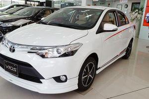 Phát sốt với Toyota Vios phiên bản thể thao giá chỉ hơn 400 triệu