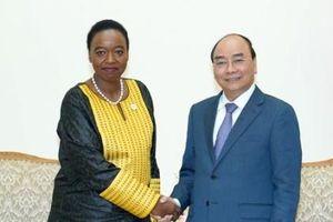 Thủ tướng tiếp Bộ trưởng Ngoại giao Kenya và Giám đốc Cơ quan Vệ binh quốc gia Liên bang Nga