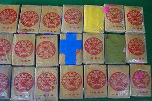 Thêm 21 bánh nghi heroin trôi dạt từ biển vào đất liền tỉnh Thừa Thiên Huế