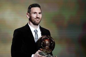 Quả bóng vàng 2019: Vượt mặt Ronaldo, Messi đi vào lịch sử