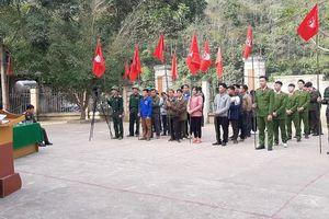 Ra quân chương trình Tình nguyện mùa Đông ở Mường Lát