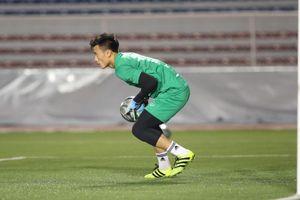 Lý do bất ngờ ông Park Hang Seo để thủ môn Bùi Tiến Dũng dự bị