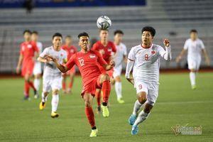 Video bàn thắng U22 Việt Nam 1-0 U22 Singapore