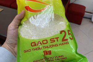 ST25 và cơ hội vàng xây dựng thương hiệu gạo Việt Nam