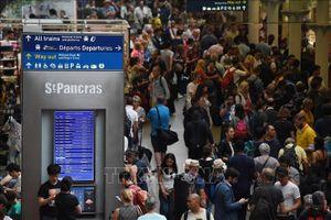 Hoạt động đường sắt tại London đình trệ do đình công