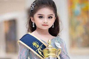 'Lịm tim' trước vẻ đáng yêu của bé 6 tuổi đăng quang Hoa hậu nhí Thái Lan 2019