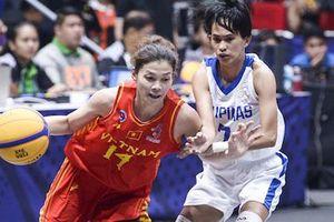 Đội tuyển bóng rổ nữ Việt Nam không thể về nước vì siêu bão