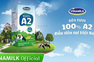 Vinamilk, sữa tươi 100% và nguồn nguyên liệu