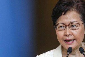 Trưởng đặc khu Hồng Kông phản ứng gì về đạo luật mới của Mỹ?