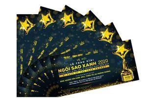 Hàng ngàn vé mời lễ trao giải 'Ngôi sao xanh 2019' miễn phí dành tặng khán giả